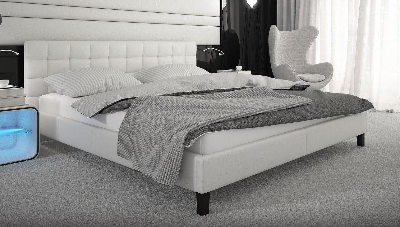 SEDEX Diseñador Cama Toro 140 x 200 con somier de Piel ...