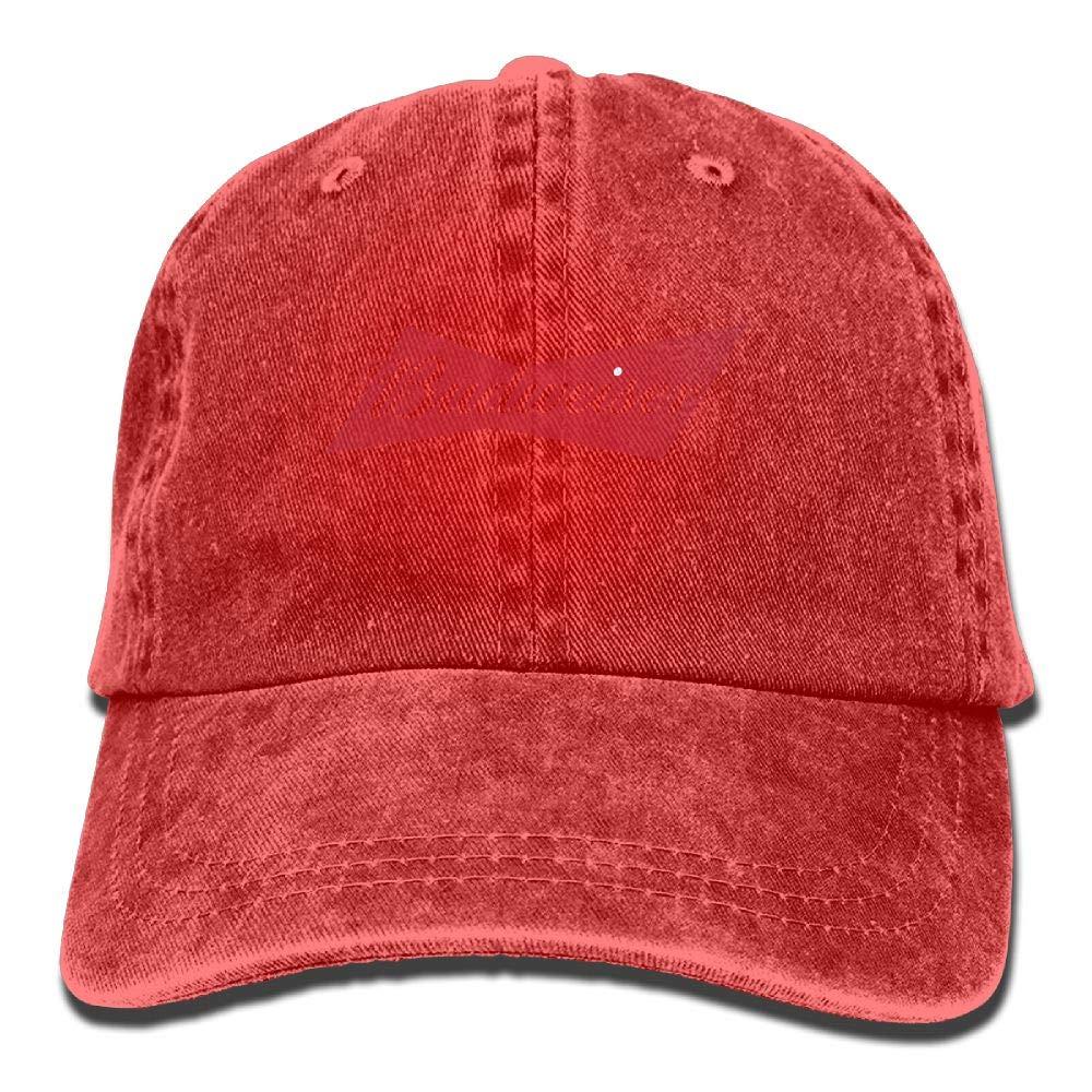Amazon.com  Denim Baseball Caps Budweiser Beer Logo Adult Vintage Washed  Cotton Hats  Clothing aa96b80c68a