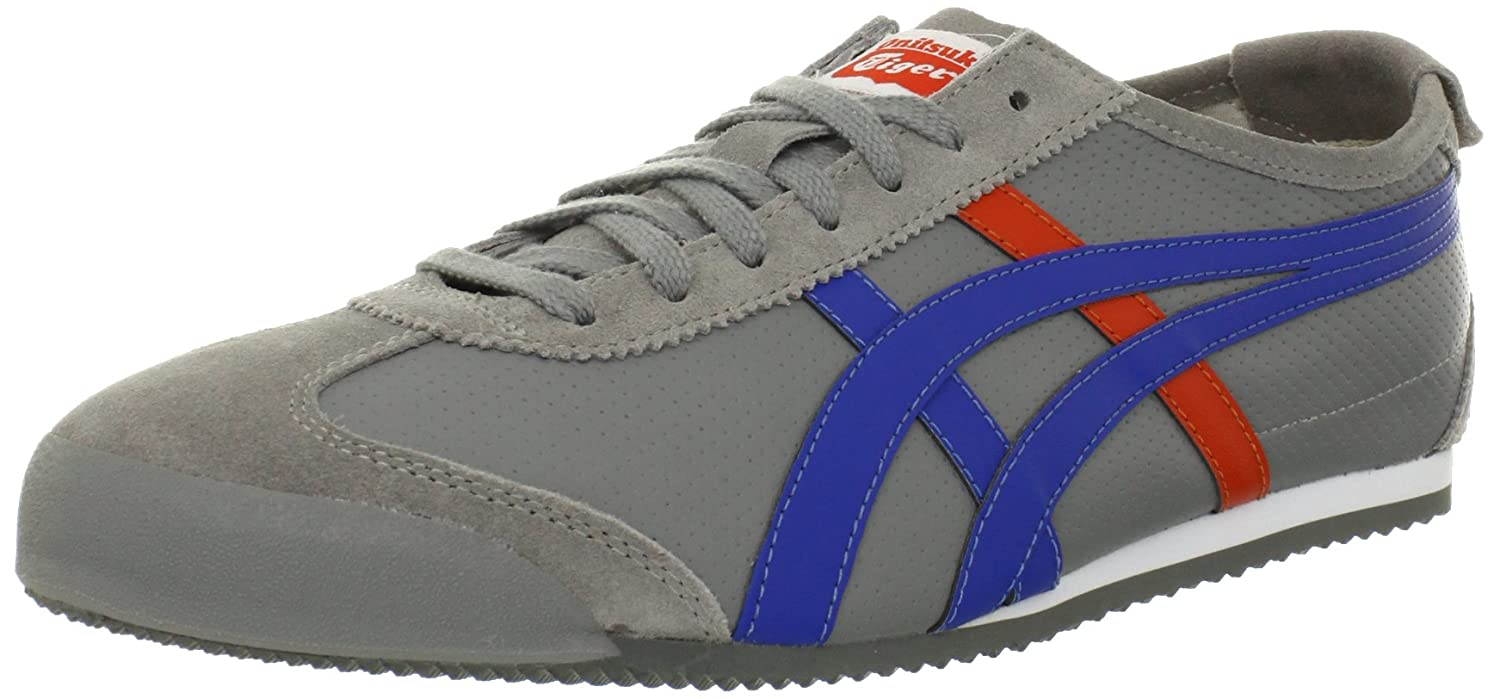 Onitsuka Tiger Mexico 66 Fashion Sneaker B0088WBLA0 6.5 M US Women / 5 M US Men|Grey/Blue