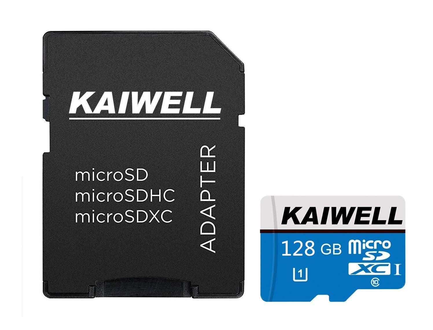KAIWELL - Tarjeta de Memoria Micro SD SDXC con Adaptador (128 GB, 256 GB, 400 GB, Clase 10) 400GB