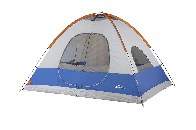 Amazon.com  Suisse Sport Yosemite Tent (5 Person) Blue  Sports u0026 Outdoors  sc 1 st  Amazon.com & Amazon.com : Suisse Sport Yosemite Tent (5 Person) Blue : Sports ...