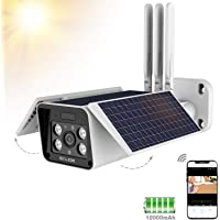 Solimo Outdoor Security Solar Battery Camera