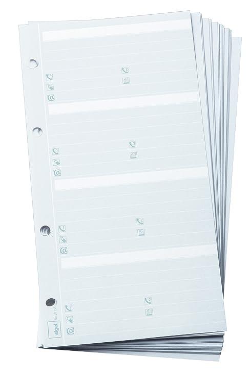 Sigel SO130 - Plantilla para agenda telefonica (160 entradas ...