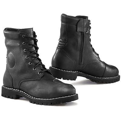 TCX Hero Gore-TEX Waterproof Urban Leather Motorcycle Bike Boots - Black 44 | Motorcycle & Combat