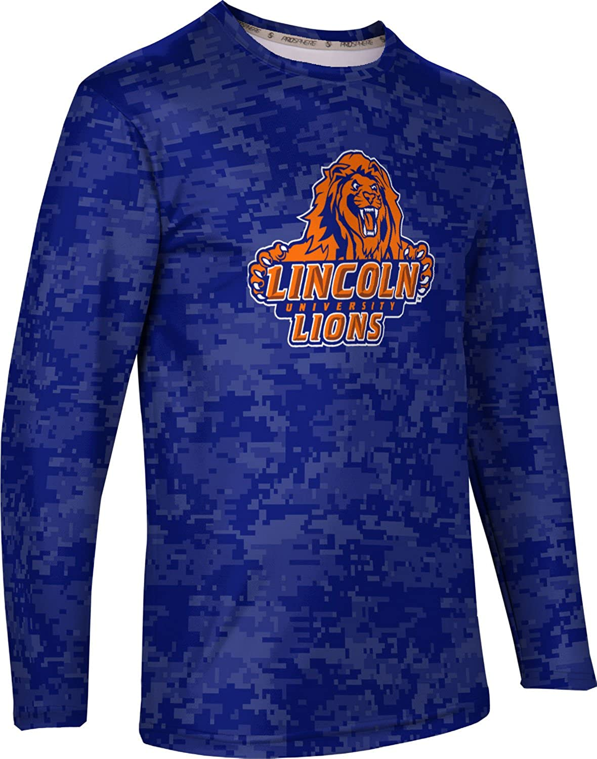 Mens Long Sleeve Tee Zoom PA ProSphere Lincoln University