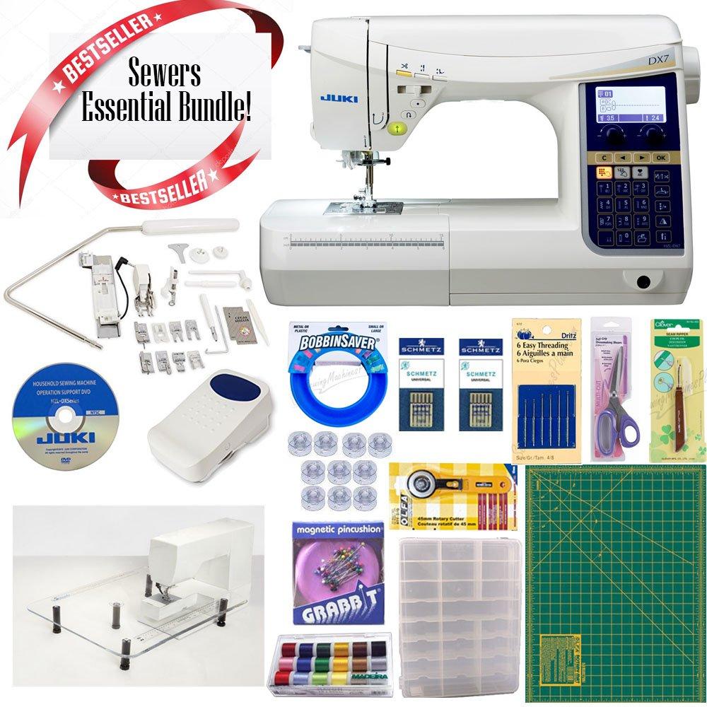 Amazon.com: Juki HZL-DX7 Computerized Sewing Machine w/ Sewing ...