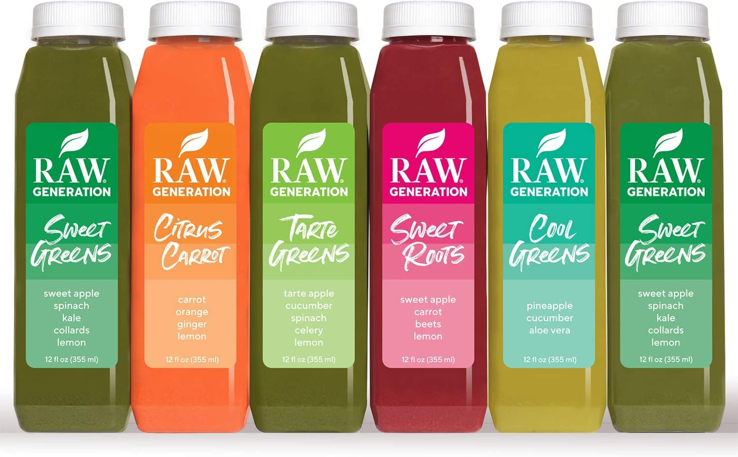 Raw Generation 3-Day Skinny Juice Cleanse for Fast Weight Loss