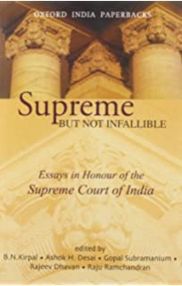 buy judicial activism in transgressing borders and  supreme but not infallible essays in honour of the supreme court of