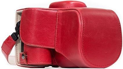 Megagear Nikon D3400 Ever Ready Leder Kamera Case Mit Kamera