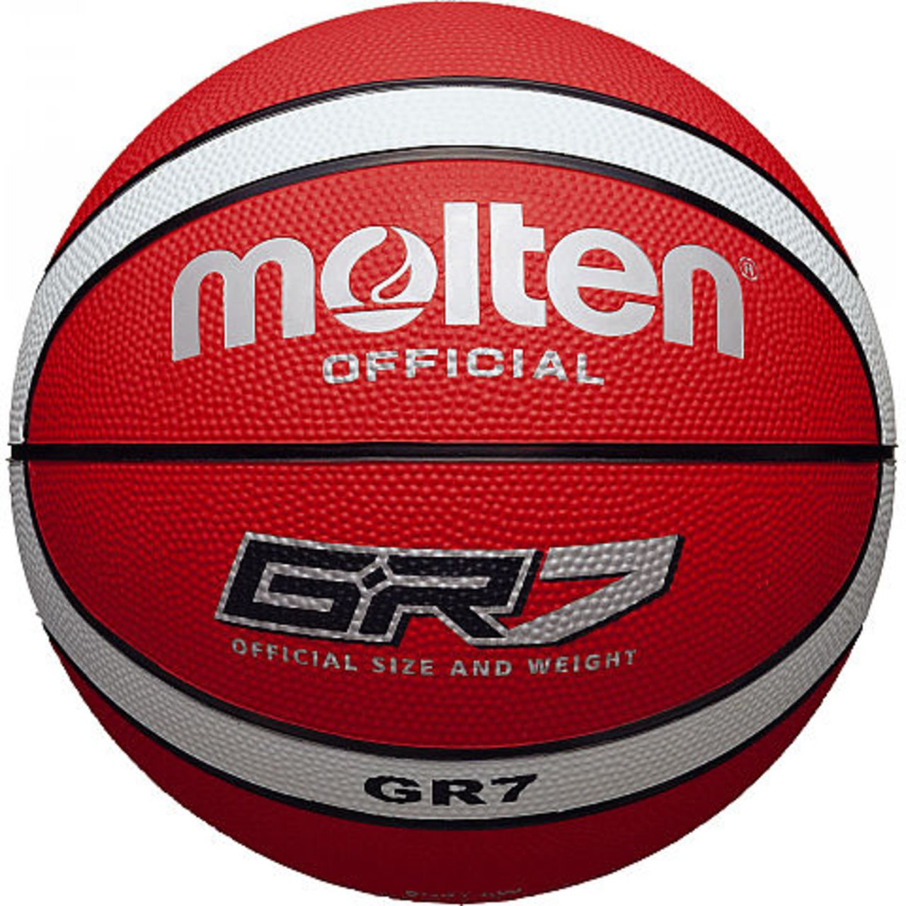Molten Gr7 baloncesto rojo tamaño 7: Amazon.es: Deportes y aire libre