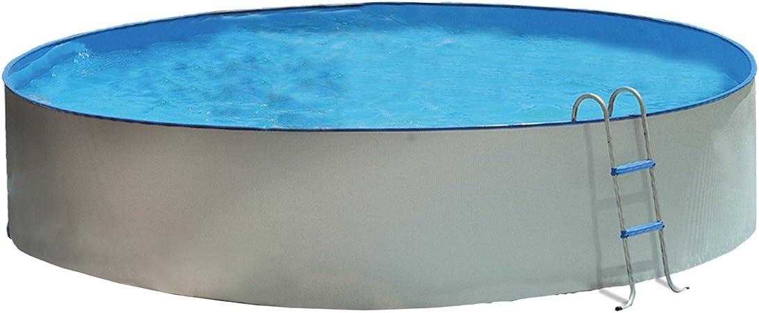 TOI - Piscina desmontable redonda PROMO - 400x90: Amazon.es: Jardín