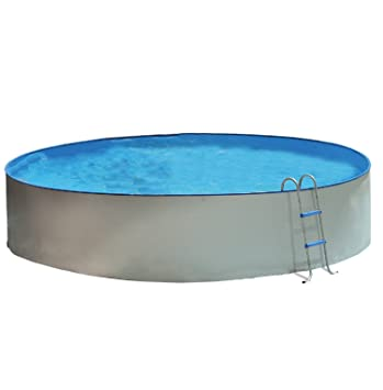 TOI - Piscina desmontable redonda PROMO - 400x90: Amazon.es ...