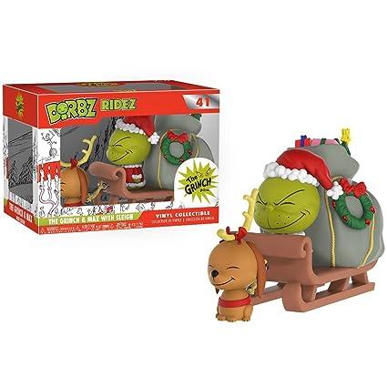 Amazon.com: El Grinch & Max con sleign: Funko Dorbz Ridez X ...