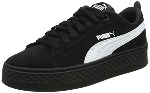PUMA Smash Platform SD Leather Sneaker Scarpe Donna 366488 05 Rosa