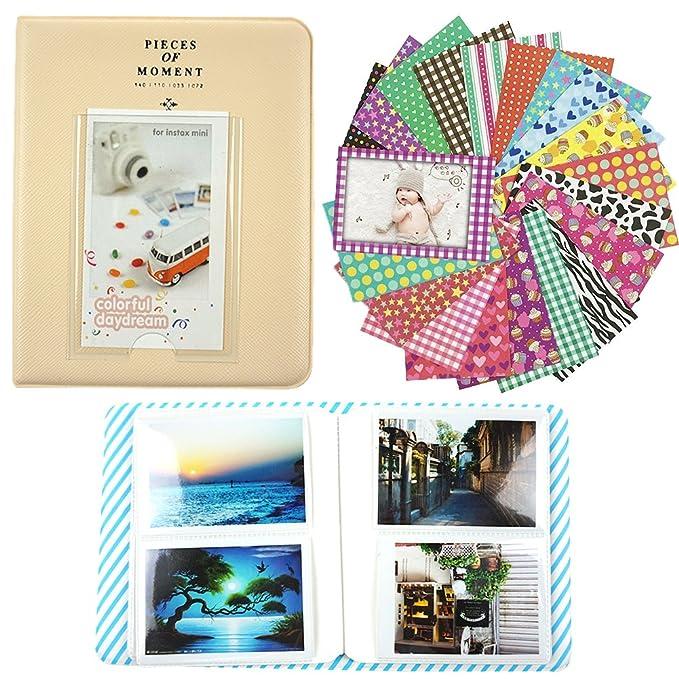 12 opinioni per Alohallo 64 caselle Photo Album / 20 Adesivi Psc per Fujifilm Polaroid Instant