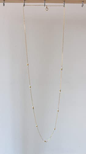 collier perle chaine or