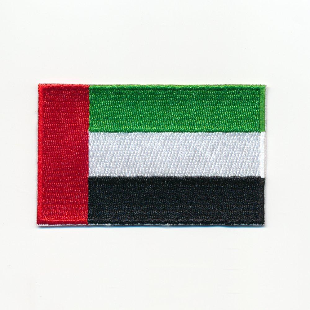 40 x 25 mm Patch Vereinigte Arabische Emirate Flagge Flag Aufn/äher Aufb/ügler 0939 A