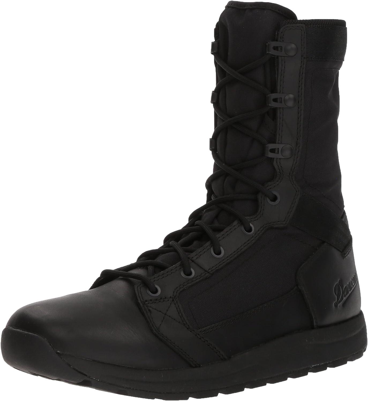 "Danner Men's Tachyon 8"" Military and Tactical Boot, Polishable Black Hot, 10 D US"