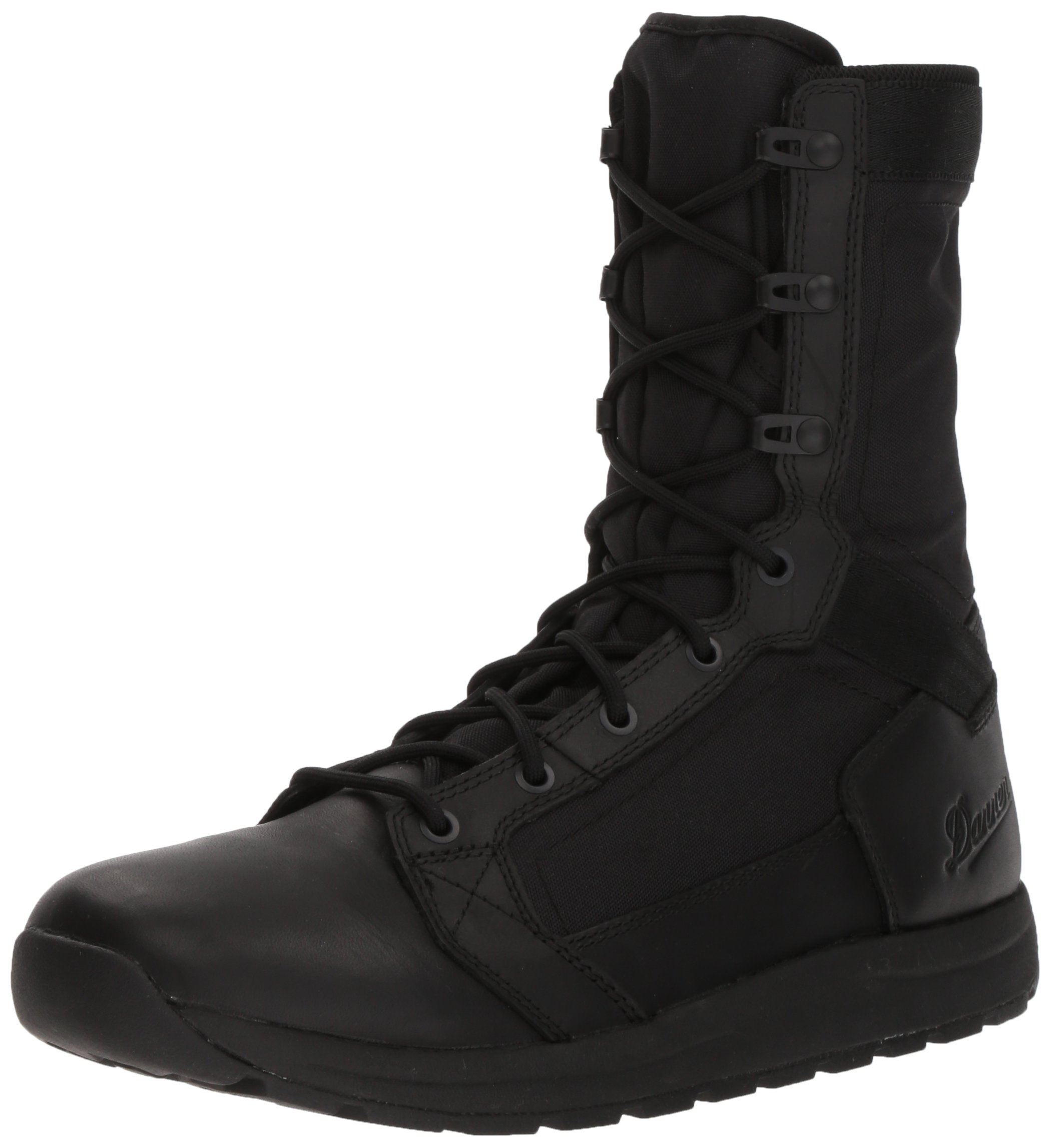Danner Men's Tachyon 8'' Military and Tactical Boot, Polishable Black Hot, 9.5 2E US by Danner