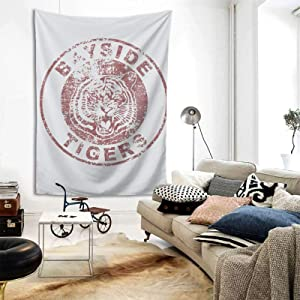 Jywmsc Saved by The Bell Room Tapestries Living Wall-Tapestries Beach Blanket Tapestries Family Dormitory Decoration 80×60 Inch