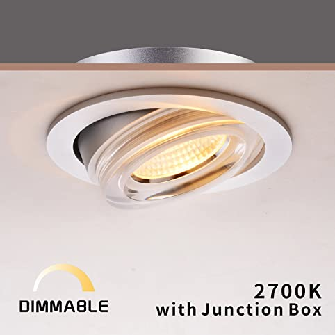 4 recessed light trim brushed nickel obsess acrylic recessed led downlight dimmable light trim with