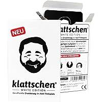 DENKRIESEN - klattschen® - White Edition - Die offizielle Erweiterung des Kult-Trinkspiels, Ausführung:Spielkartenkarton