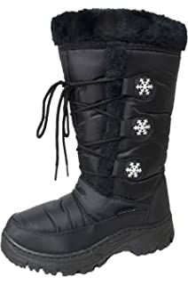 Amazon.com | Shoelace Women's Water Resistant Insulated Winter ...