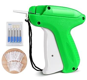 Pistola Etiquetadora Etiqueta de Precio con 5 Agujas de Repuesto y 1200 Púas de Kimble Estándar para Ropa Etiqueta Etiquetado Precios: Amazon.es: Oficina y ...