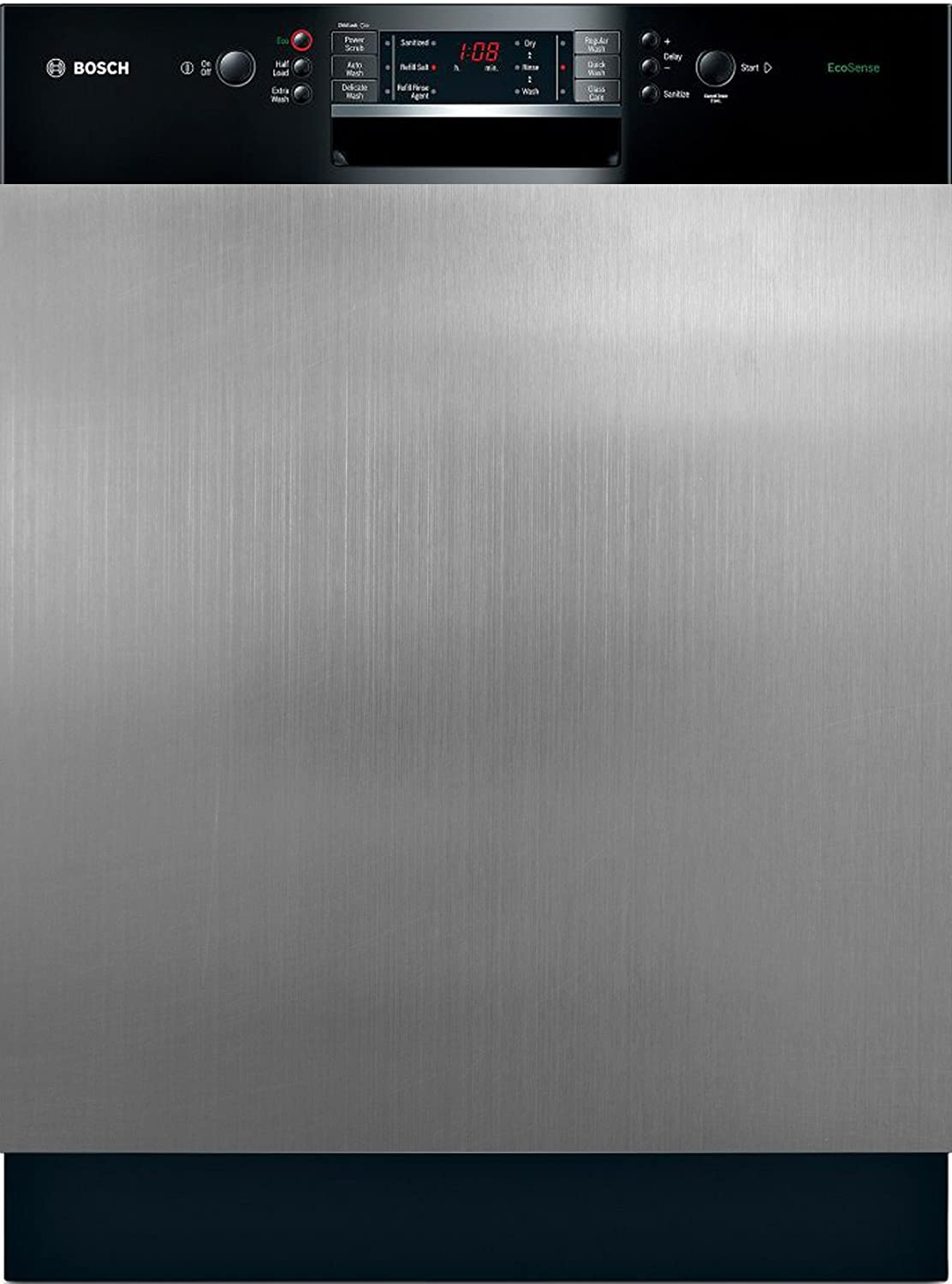 Appliance Art Instant Stainless Magnetic Dishwasher Door Cover Sheet, Vinyl Decorative Panel Decal With Stainless Steel Texture For An Instant, Easy Update (23.5 x 26 Inches, Easily Trimmable)