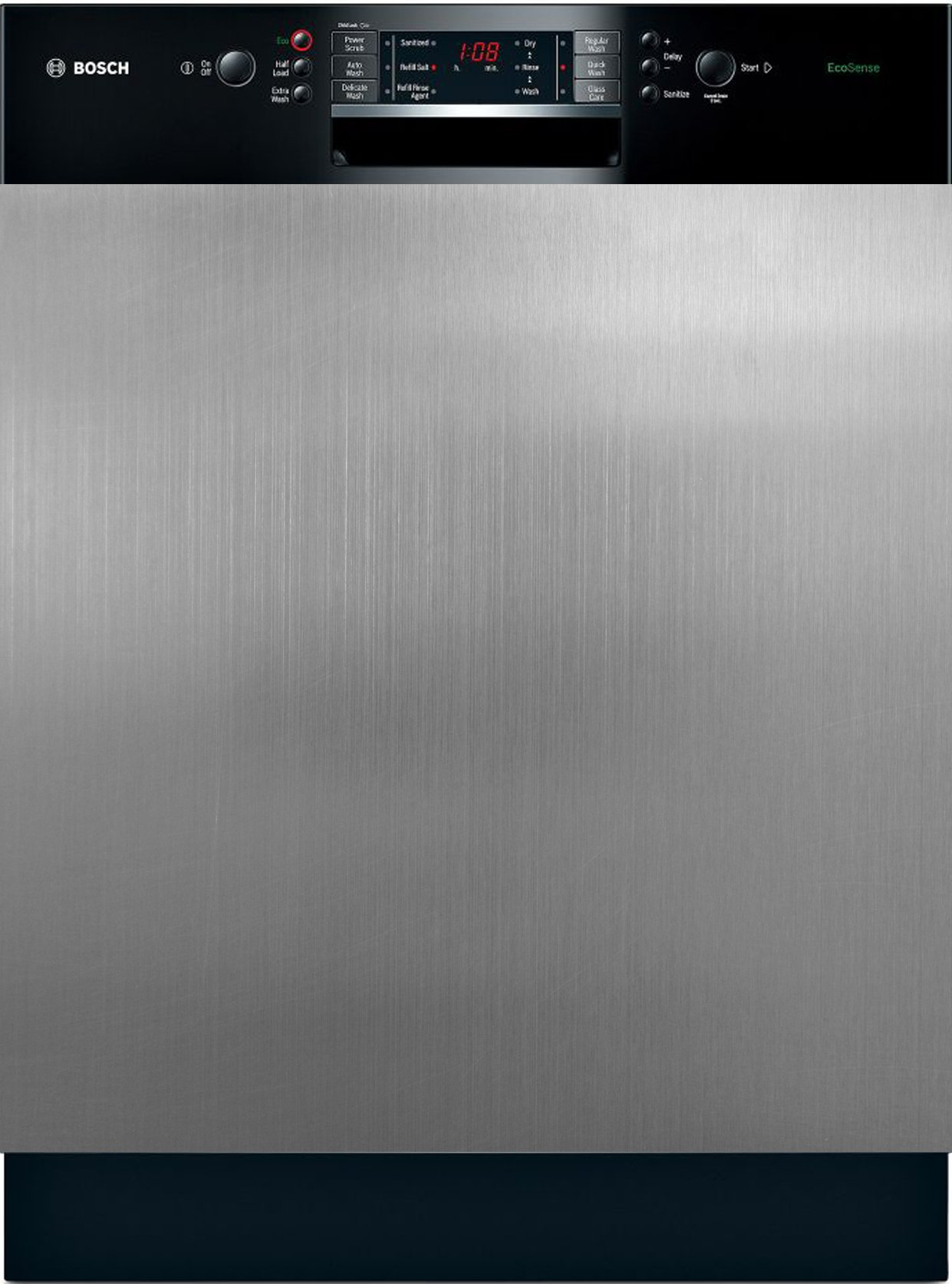 Appliance Art Instant Stainless Large Magnet Dishwasher Cover | Measures 23.5'' wide x 26'' tall | Easily Trimmable