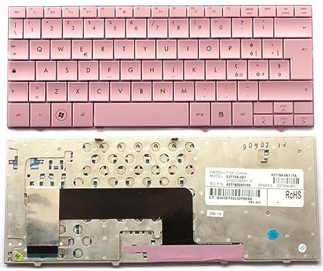 Teclado Layout italiano para ordenador portátil HP Mini 110 – Rosa Pink