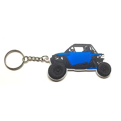 RZR Keychain XP 1000 900 (Electric Blue): Automotive