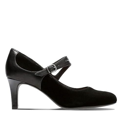 Zapatos de tacón, Color Negro, Marca CLARKS, Modelo Zapatos