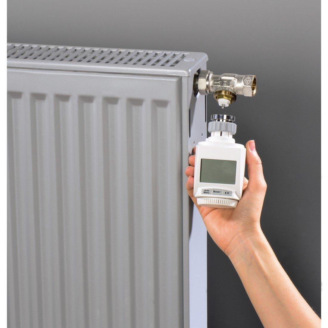 Xavax 00111945 Accesorio para termostatos, De plástico, Gris: Amazon.es: Hogar