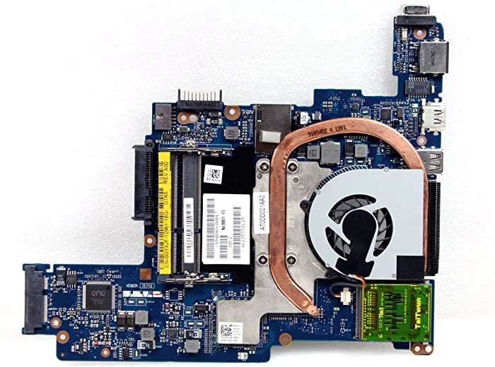 Dell New Genuine OEM Inspiron 10z 1120 M101Z Laptop Motherboard Main Logic System Board AMD K325 9V0GR C9CT8 LA-6132P 4XG5N 2JN1J 0YWKV Heatsink