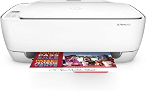 HP DeskJet 3634 Compact All-in-One Wireless Printer with Mobile Printing, Instant Ink ready (K4T93A) (Renewed)