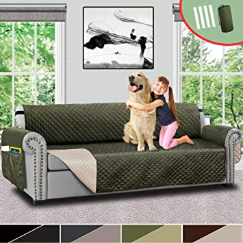 Brilliant Vailge Oversize Reversible Sofa Cover Extra Large Sofa Slipcover With Strap Pocket Extra Width Up To 78 Inches Furniture Protector Couch Covers For Frankydiablos Diy Chair Ideas Frankydiabloscom