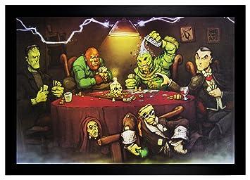 Monsters playing poker live poker barcelona