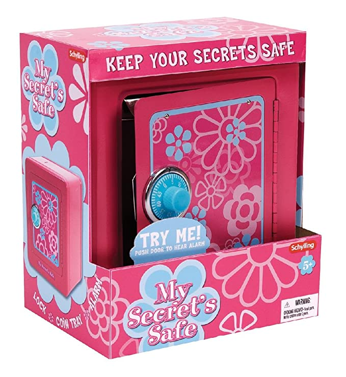 Amazon Schylling My Secret Safe With Alarm Toys Games