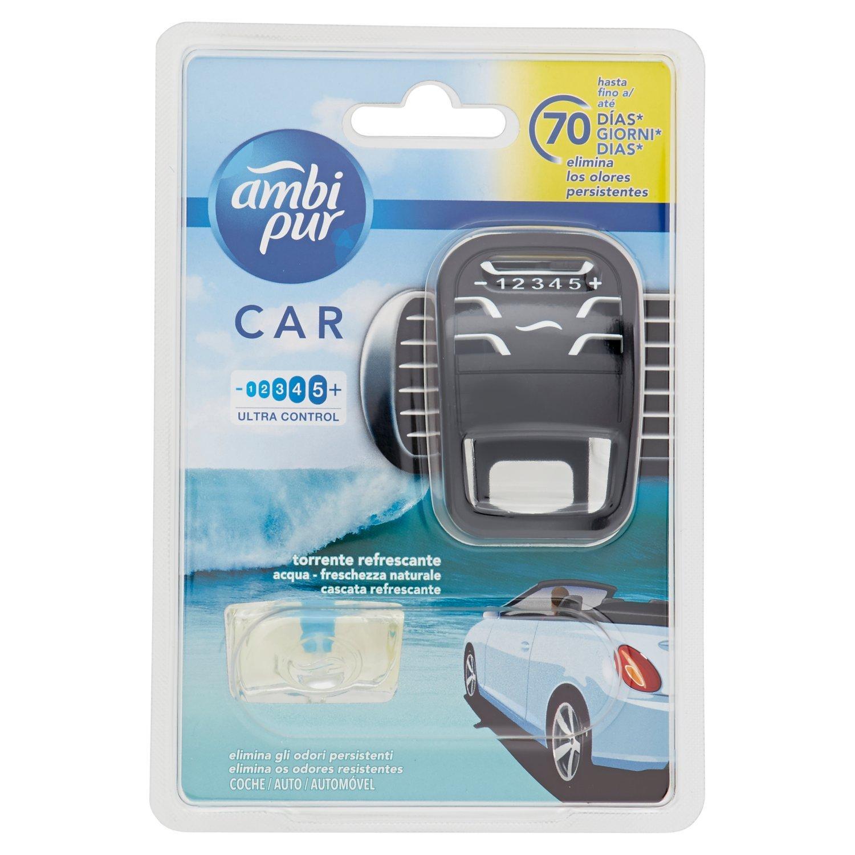 Ambi Pur Car Torrente Refrescante Difusor y Fragancia para Ambientador - 7 ml: Amazon.es: Amazon Pantry