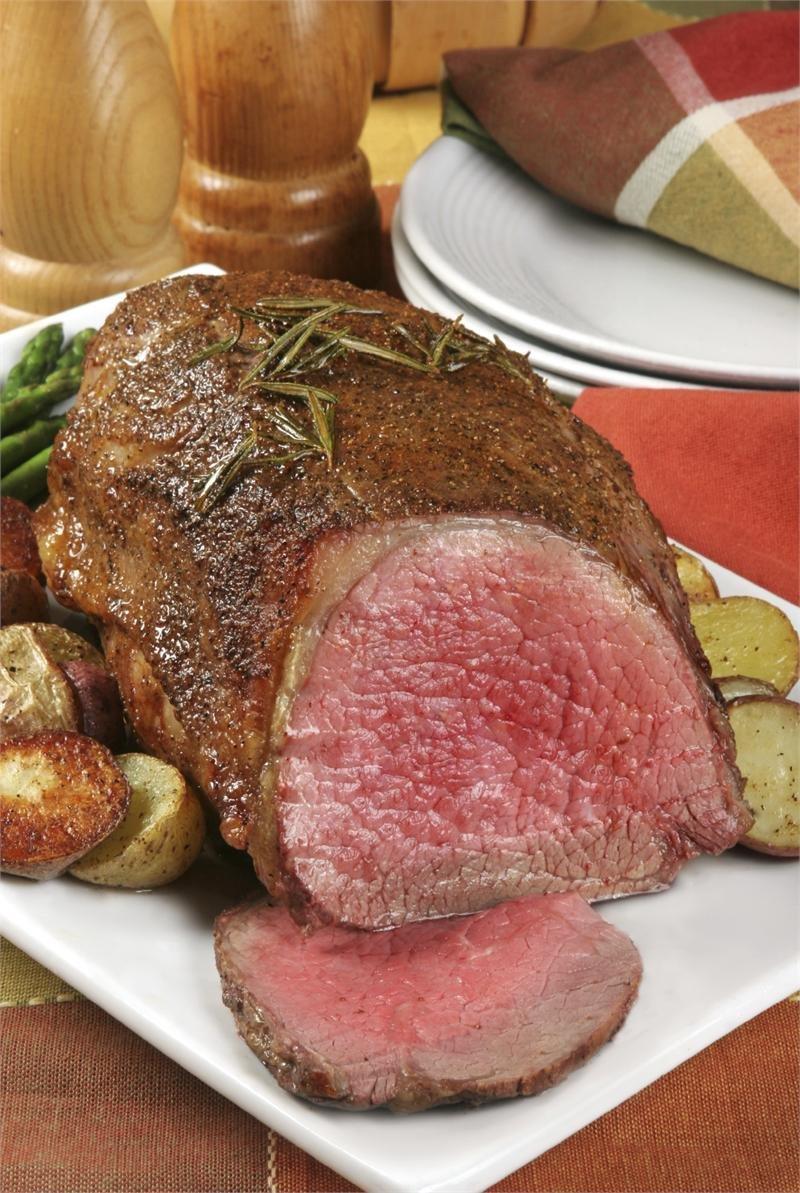 USDA Prime Beef Eye Round Roast, 5lbs