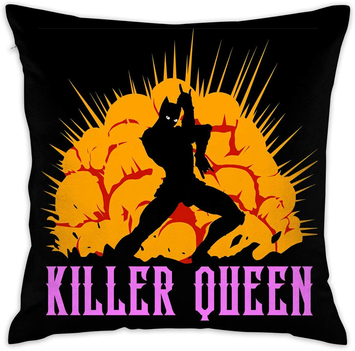 Zahhdasd JoJos Bizarre Adventure Decorative Cushion Cover Pillow Covers Case Pillowcases26 X 26 inch