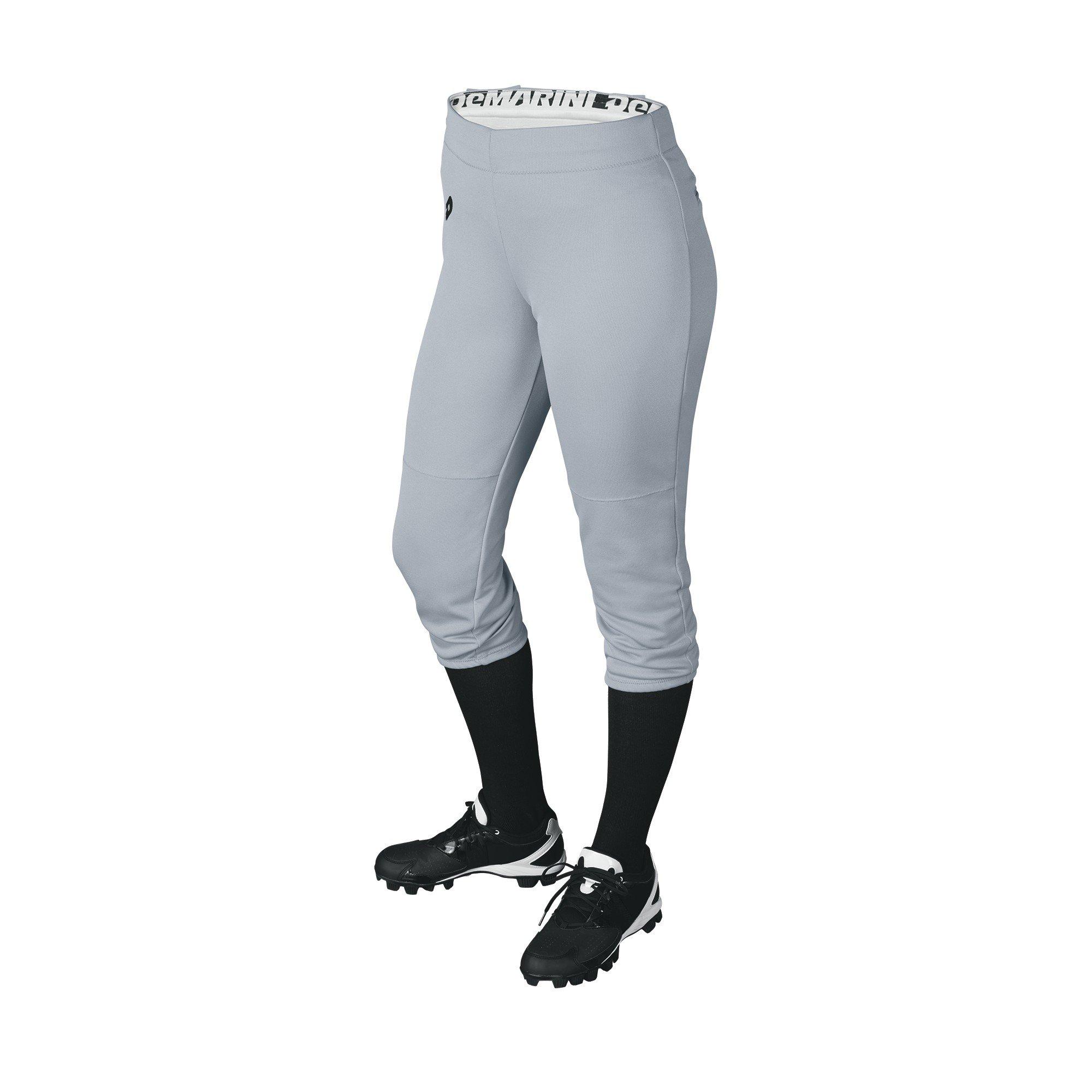 DeMarini Womens Sleek Pull Up Pant, Blue Grey, Medium by DeMarini (Image #1)