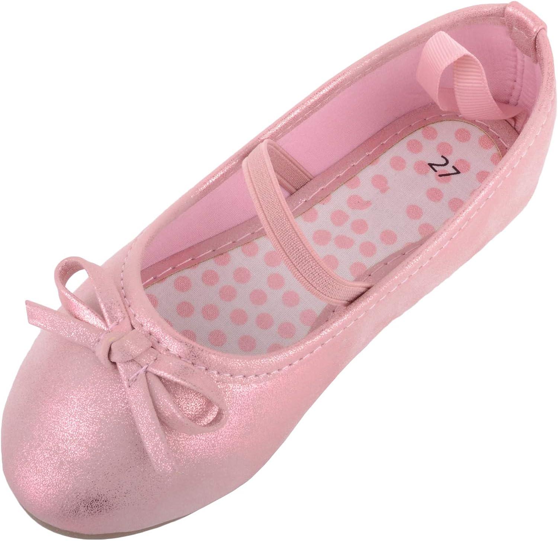 Absolute Footwear Kinder//M/ädchen Schlupfschuhe mit Gummizug