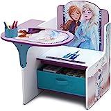 Delta Children Chair Desk with Storage Bin, Disney Frozen II