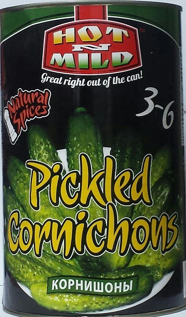 Cornichons / Gherkins / Pickles - New Large Family Size 150 oz {9.38lb}