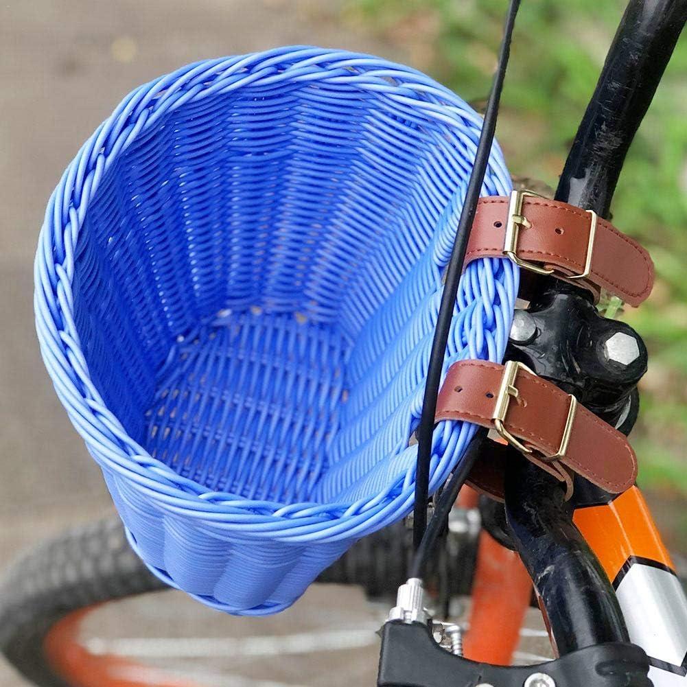 perfecti Fahrradkorb Vorne Geflochtener Fahrradkorb Weidenkorb Fahrradk/örbe Hinterradkorb F/ür Gep/äcktr/äger Fahrrad Lenkerkorb Vorne F/ür Kinder Und Erwachsene