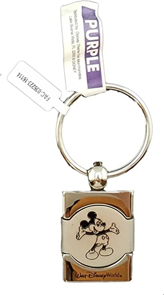 Disney Soft Touch Key Chain Disney Letters