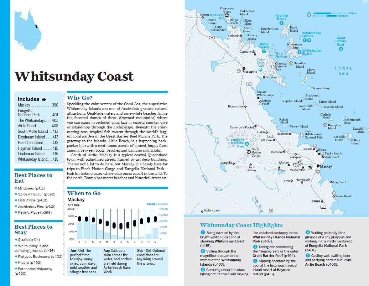 Map Of East Coast Of Australia.Lonely Planet East Coast Australia Travel Guide Amazon Co Uk