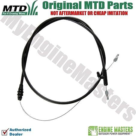 Amazon.com: MTD 946 – 04661 un cable de control: Jardín y ...
